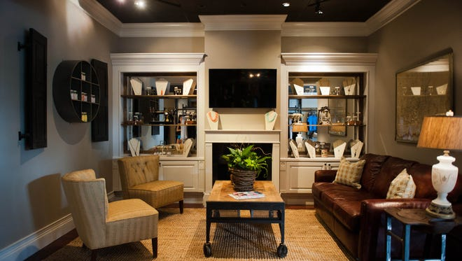Located in Greenville's popular Augusta Road area, Twill reflects the sophisticated yet casual style of its clients.