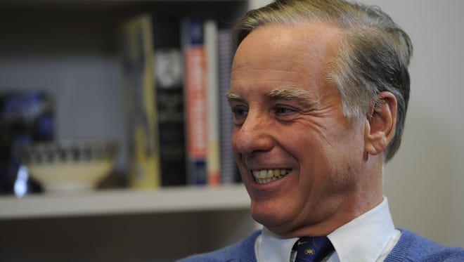 Former Vermont governor and presidential candidate Howard Dean
