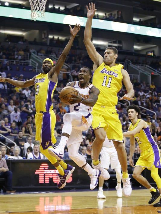 Los Angeles Lakers .vs Phoenix Suns 2017