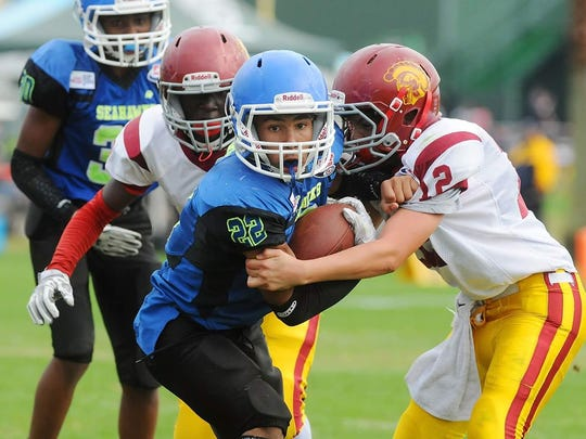 The Berlin Pop Warner JV finished the 2017 season ranked first in the nation in their respective division.