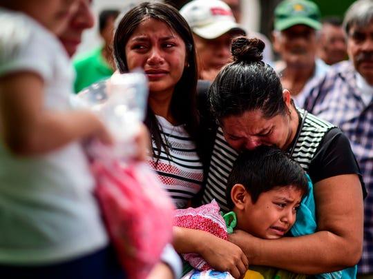 El terremoto de 8.2 grados dejó muertos, tristeza y
