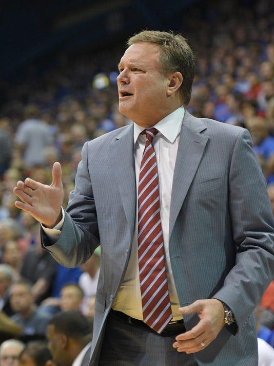 NCAA Basketball: South Dakota State at Kansas