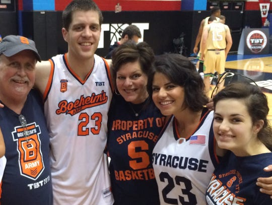 Eric Devendorf, pictured here in Chicago in 2015, with