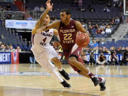 Xavier Rathan-Mayes hopes guide FSU back to the NCAA Tournament for the first time since 2012.