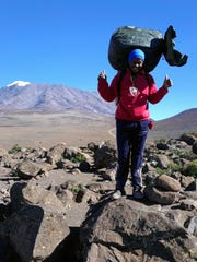 Perfect Urio, one of the porters, hauled my gear from start to finish.