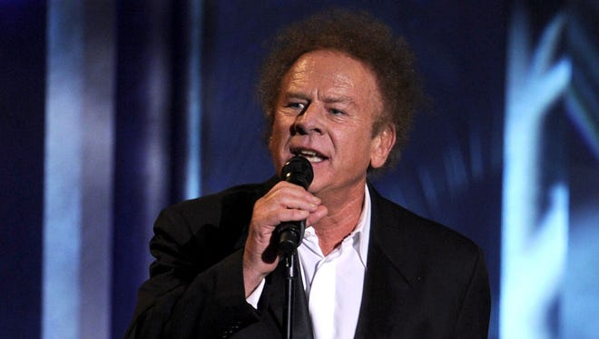 Musicians Art Garfunkel and Paul Simon (not pictured) of Simon & Garfunkel perform onstage during the 38th AFI Life Achievement Award honoring Mike Nichols held at Sony Pictures Studios June 2010 in Culver City, California.