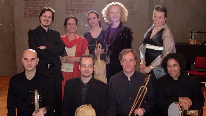 "Boston Camerata and SHARQ Arabic Music Ensemble will perform ""A Mediterranean Christmas"" Dec. 9-10 at St. Joseph Chapel, 1501 S. Layton Blvd. Info: earlymusicnow.org."