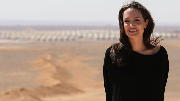 On Sept. 9 of this year, Angelina Jolie, a UNHCR special