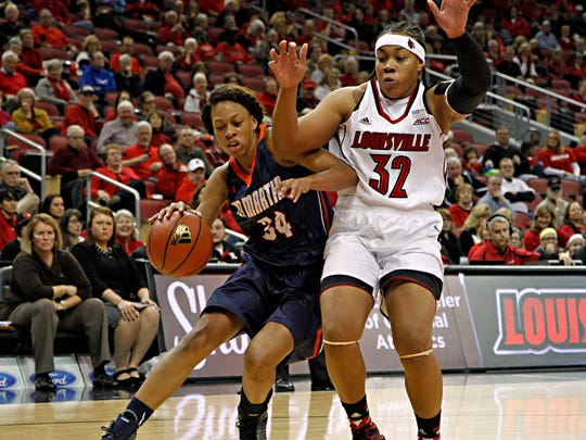 Ashia Jones was the Ohio Valley Conference Player of the Year at UT Martin.