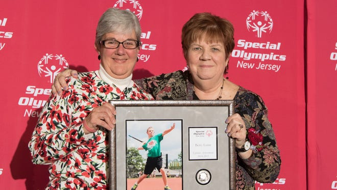 Photo from New Jersey Special Olympics 2015 Awards Dinner in Princeton, NJ Friday, Novermber 21st, 2015.