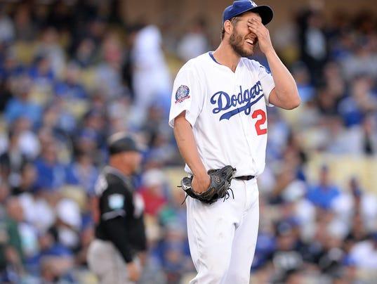 USP MLB: MIAMI MARLINS AT LOS ANGELES DODGERS S BBN LAD MIA USA CA