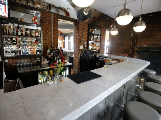 View of the bar, pictured, Friday, April 28, 2017,