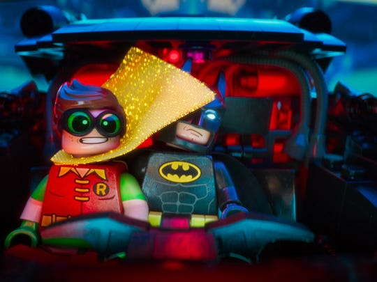 """""""The Lego Batman Movie"""" features the voices of Zach Galifianakis, Michael Cera, Rosario Dawson and Ralph Fiennes."""
