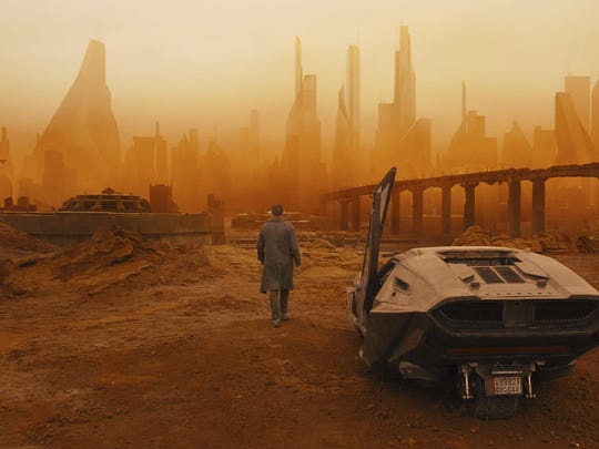 "This image released by Warner Bros. Pictures shows a scene from ""Blade Runner 2049."""