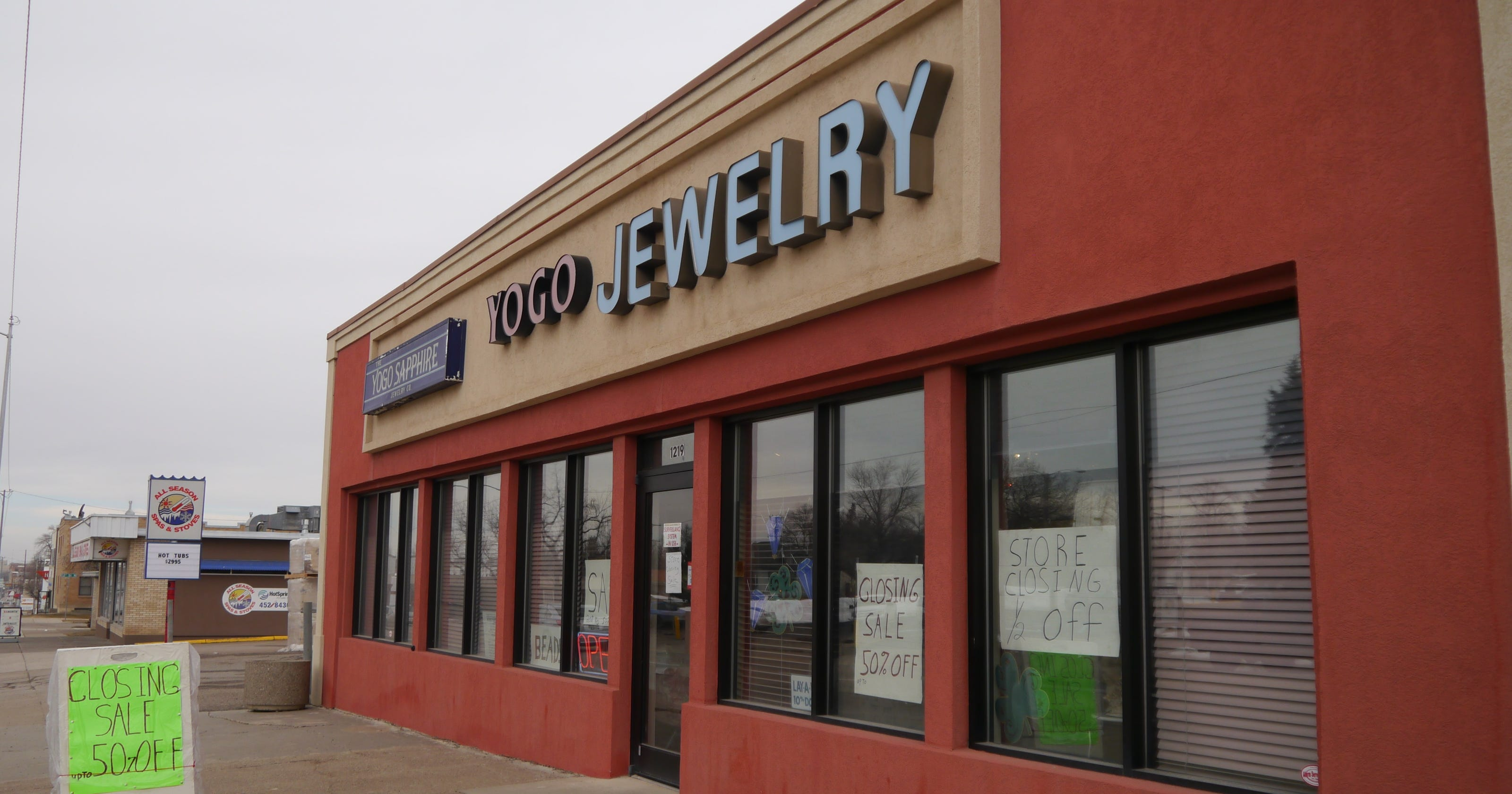 Yogo Sapphire Jewelry in Great Falls is closing