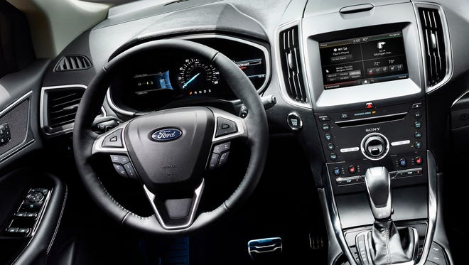 """The new 2015 Edge will have a new feature called """"adaptive steering."""""""