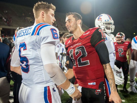 NCAA Football: Louisiana Tech at Western Kentucky