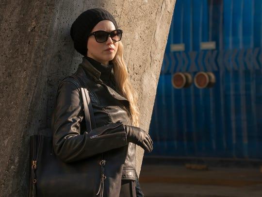 Dominika (Jennifer Lawrence) must identify a mole in