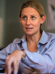 Amy Cooper, executive director of HealthFirst, in Burlington