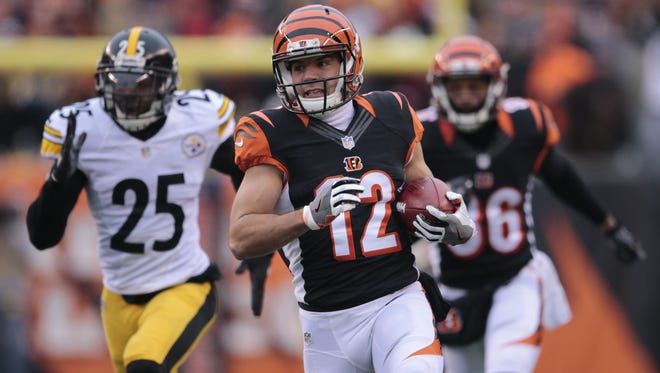 Cincinnati Bengals kick returner Alex Erickson knows he has competition in 2017 with new draft picks.