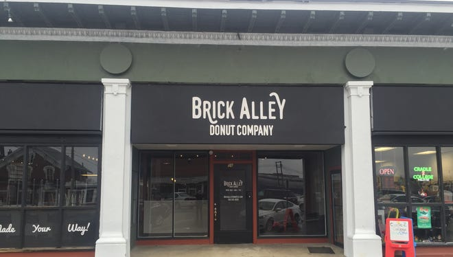 The Brick Alley Donut Company celebrated its grand opening Friday.