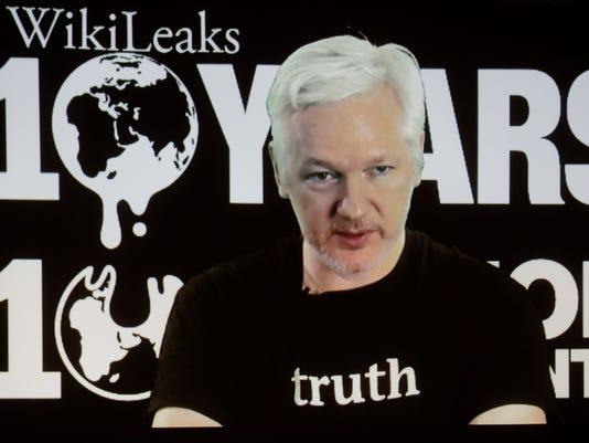WikiLeaks AP