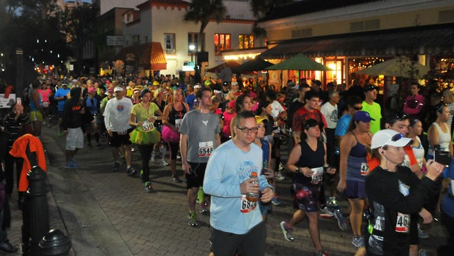 The Space Coast Marathon and Half Marathon will bring roughly 7,000 runners to Cocoa Village.