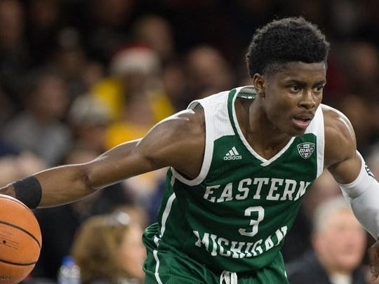 Paul Jackson led Eastern Michigan to victory over Western Michigan on Saturday afternoon.