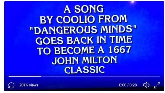 Jeopardy! contestant mispronounces 'Gangsta,' costing himself $3200