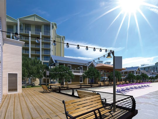 Allegiant Travel Co. plans to build a 500-room hotel resort along Charlotte Harbor that will also feature up to 180 condominium units, a 1,000-foot-long swimming pool, shops and restaurants and a boardwalk along the water. It will be Allegiant's first Sunseeker Resort, and is about seven miles from Punta Gorda Airport, where Allegiant Air is the sole carrier.