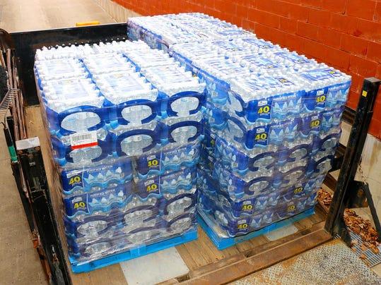 WSD donated water