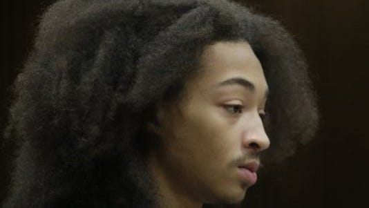 Jayru Campbell was arraigned for a probation violation on Tuesday, Sept. 16, 2014, in Wayne County Circuit Court.