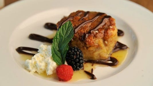 Bananas Foster bread pudding at The Southern.