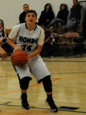 Hondo ValleyHigh School junior Chase Dictson is student athlete of the week.
