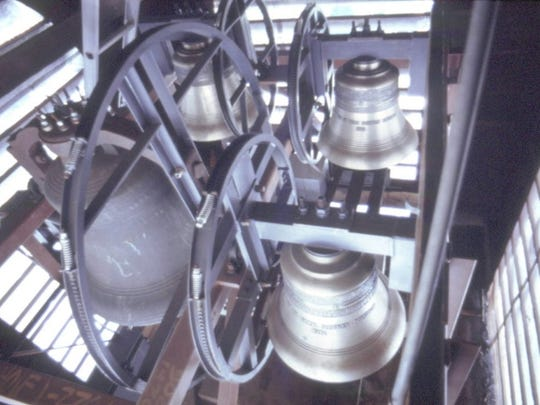 The bell in the steeple was added to the church in 1855, and still rings. In 1972, the Ruth Davidson Bell was installed.