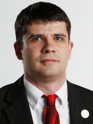 Libertarian candidate for governor Jake Porter Monday,