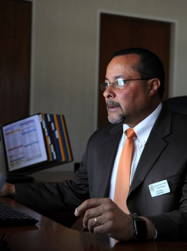 Ed Cora is the new Santa Paula Unified School District superintendent, he started July 1. He replaces Alfonso Gamino who left the district last fgall.