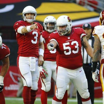 Arizona Cardinals quarterback Carson Palmer (3) and