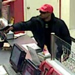 Prattville police are looking for this man inn connection with a recent armed robbery of the city's Papa Johns location.