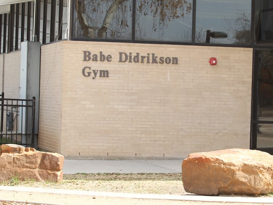 Babe Didrikson Gym on the San Angelo Central High School