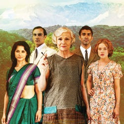 PBS is forecasting 'Indian Summers' this September. (From left; Amber Rose Revah, Henry-Lloyd Hughes, Julie Walters, Nikesh Patel and Jemima West)