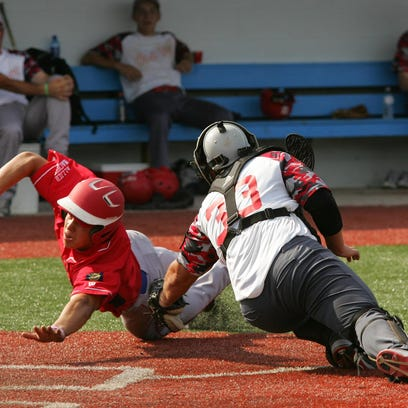 Utica Post 92 11, Tuscarawas County 7 at Beavers Field in Lancaster