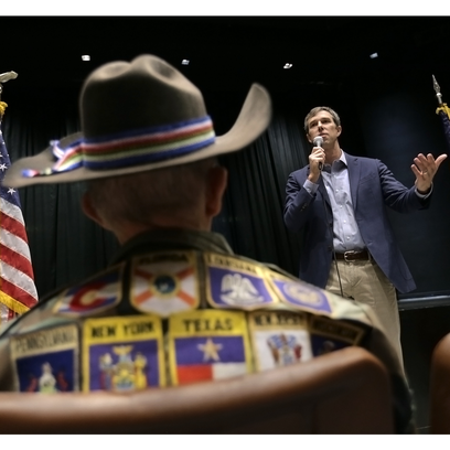 Democratic U.S. Rep. Beto O'Rourke, who is running