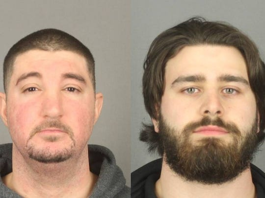 Marcus Luciano, left; and John Lombardo, right.