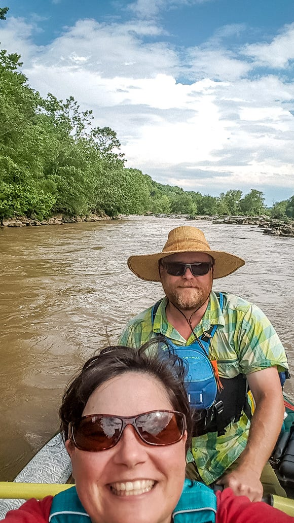 Angie and Nelson Stegall of Pisgah Forest recently