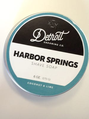Shave soap by Detroit Grooming Co.