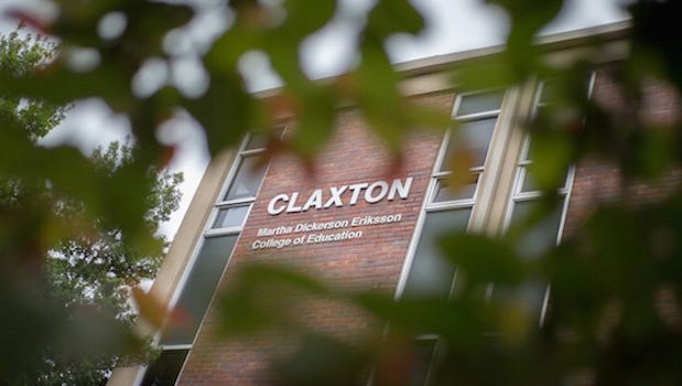 The Claxton Building at Austin Peay State University.
