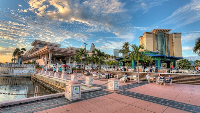Tampa Riverwalk is one of our picks for places to visit in Tampa Bay.