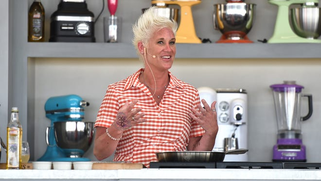 Food Network star Anne Burrell will be hosting the 20th annual Celebrity Chefs' Brunch on April 30 at the DuPont Country Club in Rockland.