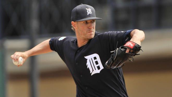 Tigers pitcher Shane Greene